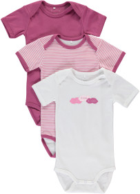 Name it, Body, 3-pack, Baby, Red Violet