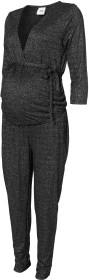 Mamalicious, Gravidbyxdress, Asti 3/4 Jersey Jumpsuit, Black