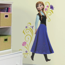 Roommates, Väggdekal, Disney Frozen, Anna