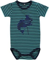 Name it, Kortärmad Body, Trio, Baby, Maui Blue