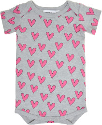 Gardner and the gang, Body, Love heart, Grey
