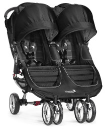 Baby Jogger, Sittvagn, City Mini Double, 2014, Black/Grey