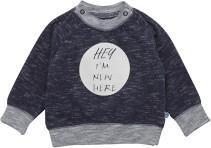 Minymo, Sweatshirt m. tryck, Elif, Dark Blue